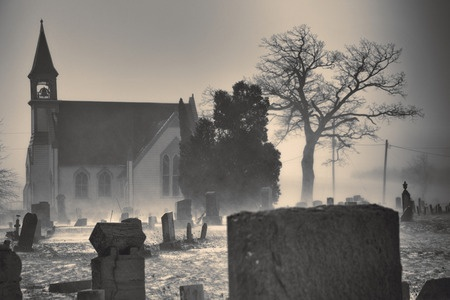 church-graveyard